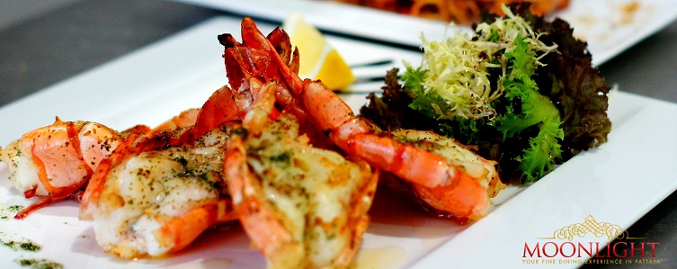 Seafood Pattaya - King prawns